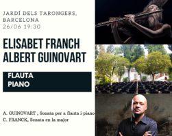 ELISABET FRANCH I ALBERT GUINOVART-JARDÍ DELS TARONGERS-26/06/2020 19:30h