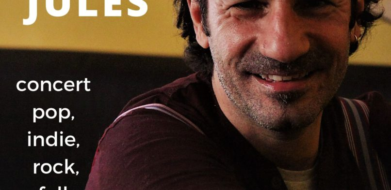 JULES A LA CASA DELS CONTES (GRÀCIA) – Divendres 02/10/20 – 21.00 hores