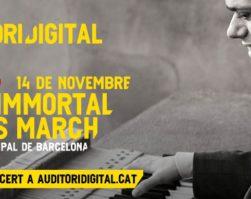 Ignasi Cambra – Concert de piano d'Edward Grieg amb la Banda Municipal de Barcelona – Dissabte 14/11/20 – 18.00 hores – Streaming