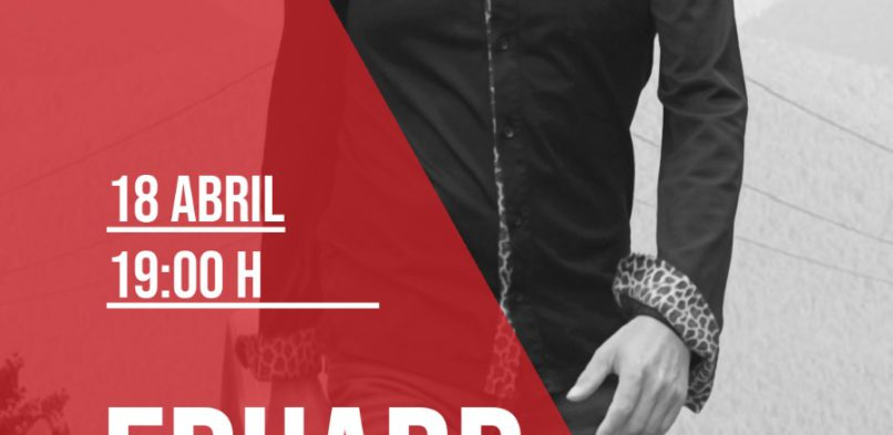 Eduard Iniesta al Voilà! de Manresa 18-04-2021